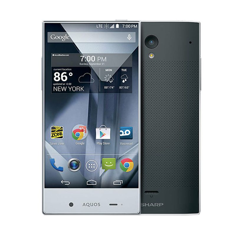 Sharp Aquos Crystal SH825Wi Hitam Smartphone
