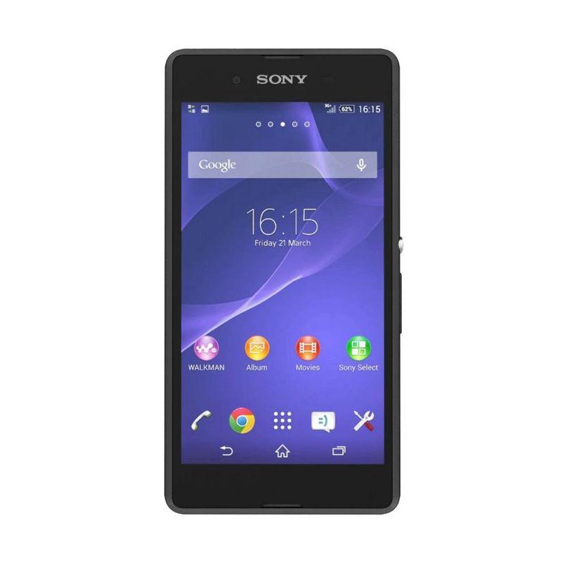 Sony Xperia E3 Dual Sim Hitam Smartphone [4 GB]