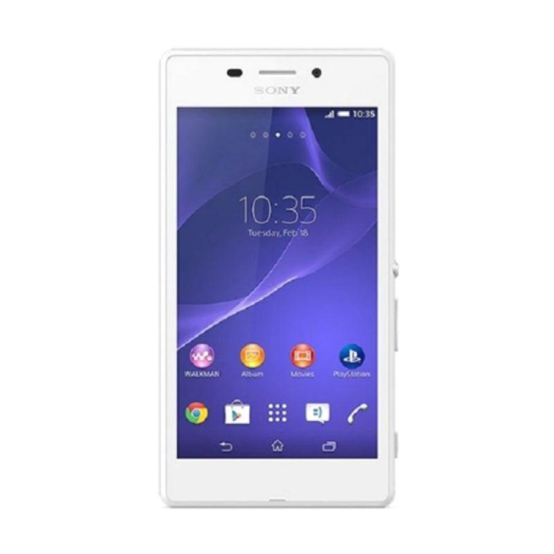 Sony Xperia M2 Aqua Putih Smartphone [8 GB]