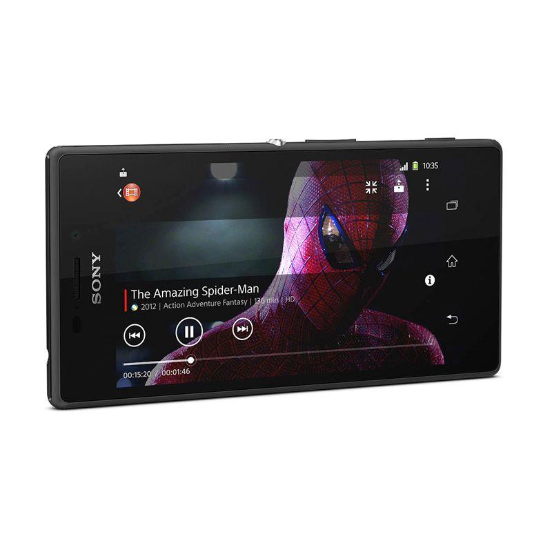 Sony Xperia M2 D2302 Hitam Smartphone [8 GB/Dual Sim Card]