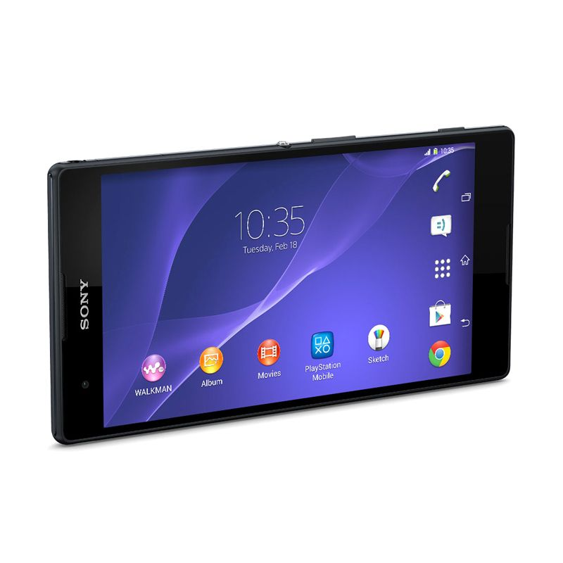 Sony Xperia T2 Ultra Hitam Smartphone