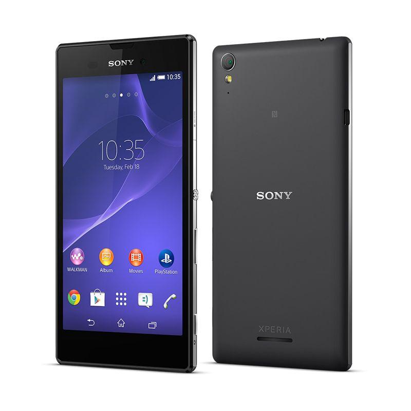 Sony Xperia T3 Hitam Smartphone [8 GB]