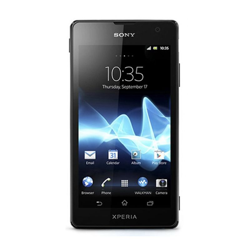 Sony Xperia TX LT29i Hitam Smartphone