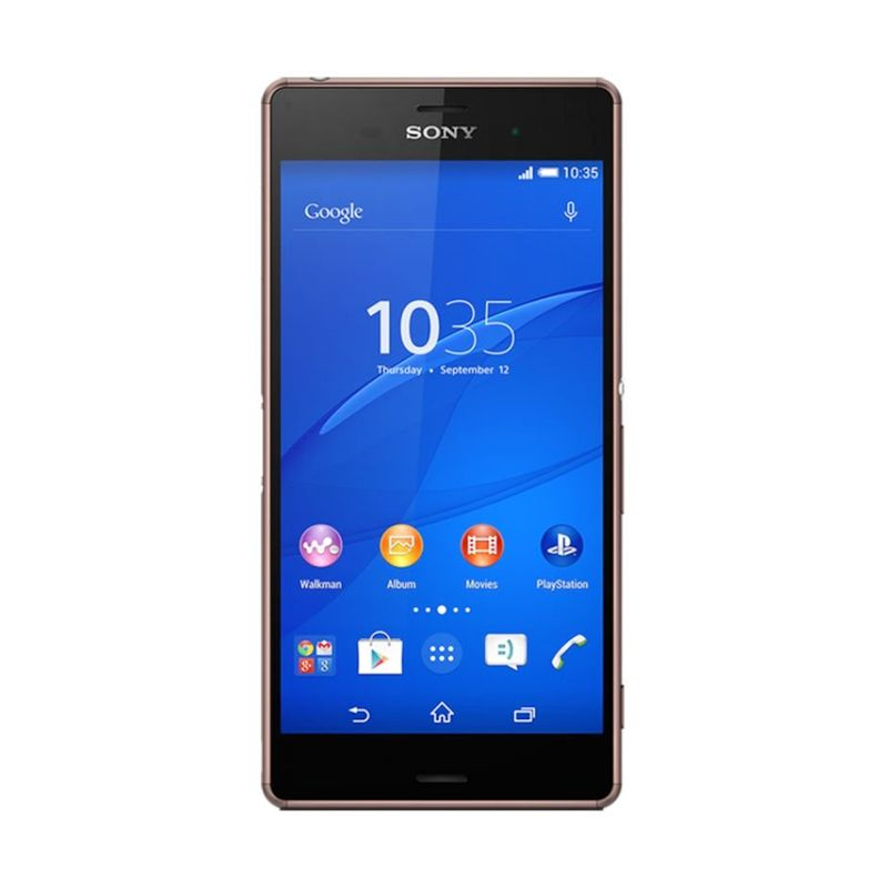 Sony Xperia Z3 16 GB Copper Smartphone