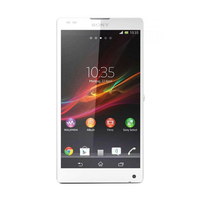Sony Xperia ZL C6502 Putih Smartphone