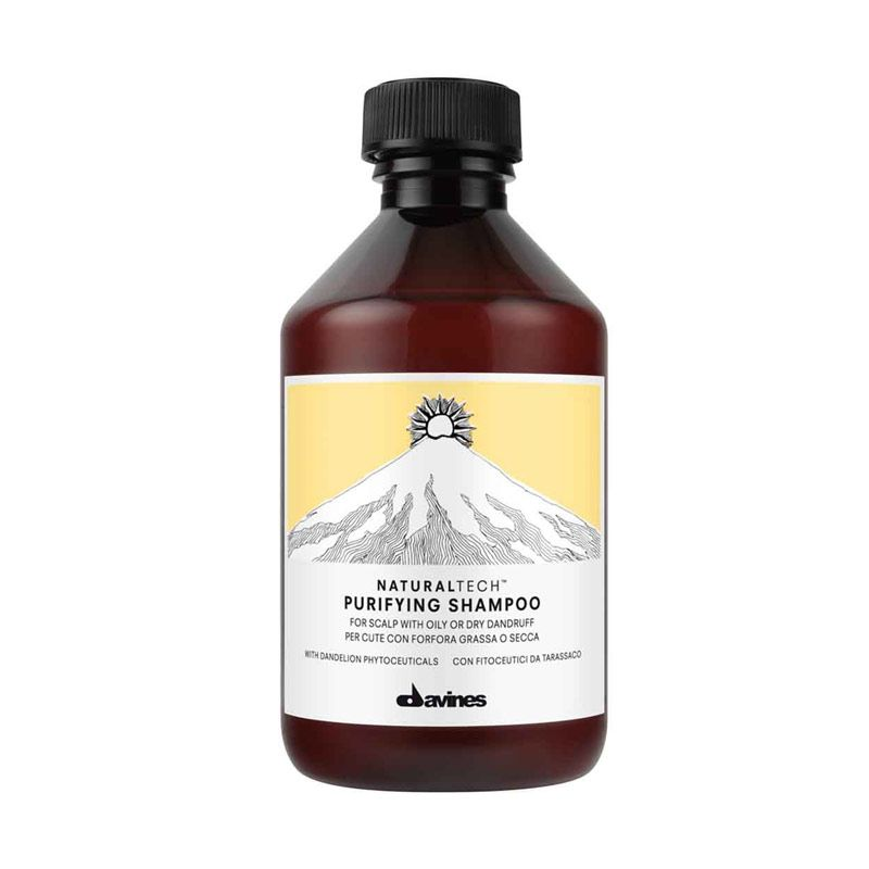 Davines Italy Natural Tech Purifying Anti Dandruff Shampoo [250 mL]
