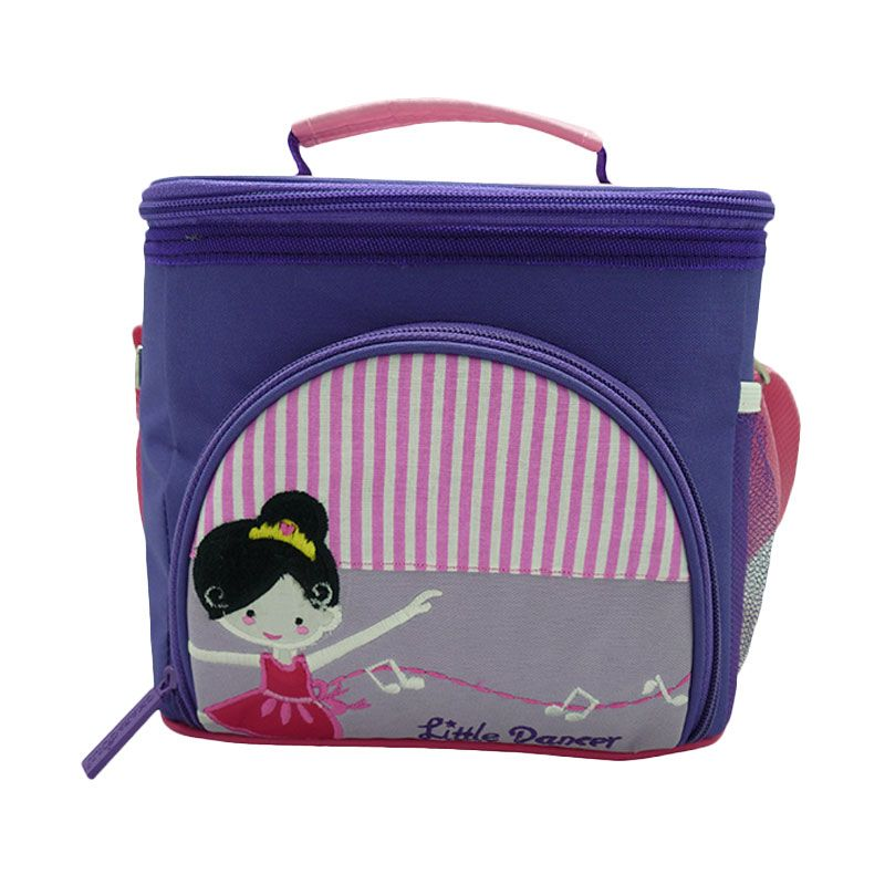 Char & Coll Terry Ballerina Ungu Lunch Bag