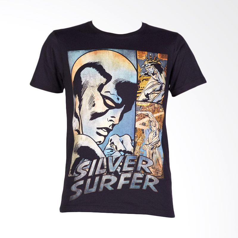 Avengers Extreme Silver Surfer Black Atasan Anak