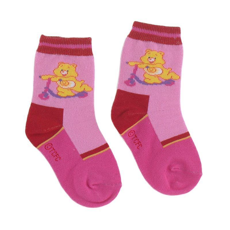 Care Bears CB010P Pink Kaos Kaki