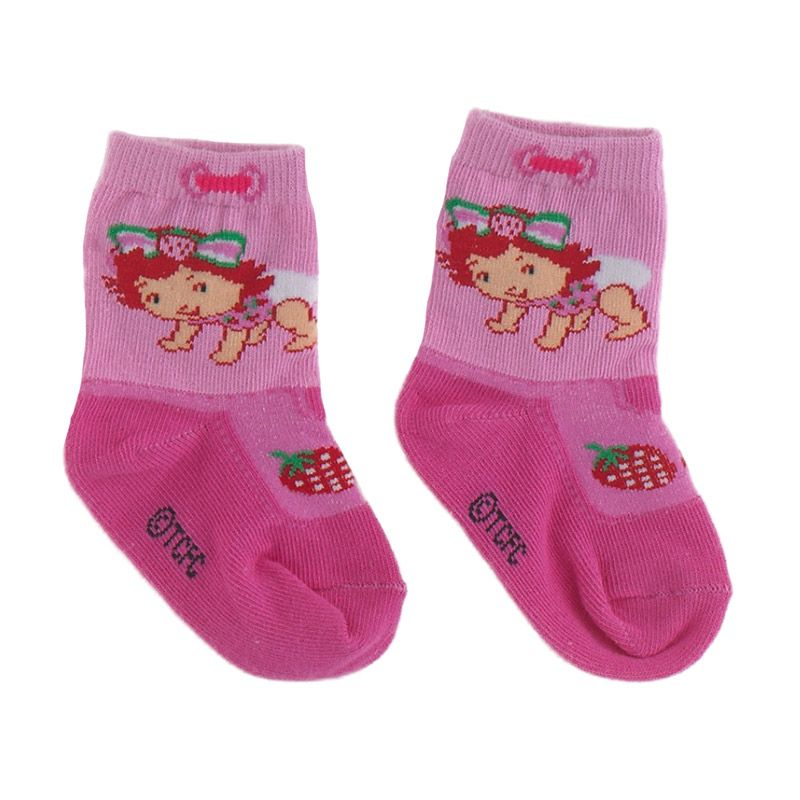 Strawberry Shortcake SSC007P Pink Kaos Kaki Bayi