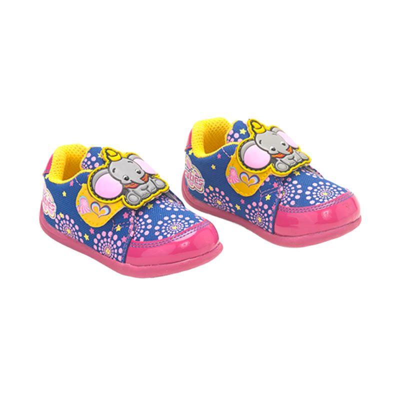 Disney Baby Dumbo Pink Sepatu Bayi