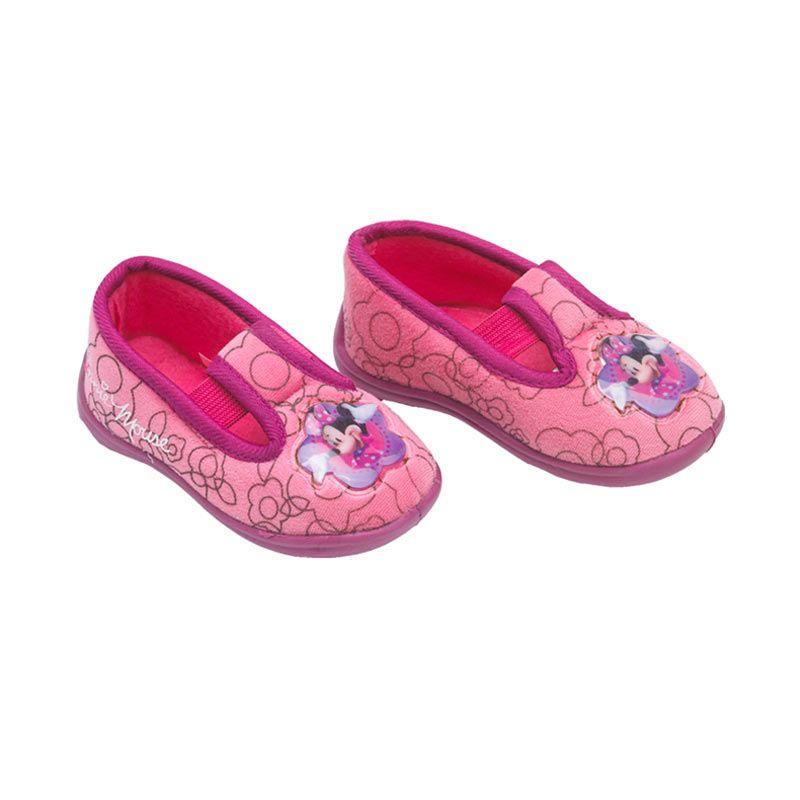Disney Baby Minnie Mouse Marry Jane Fucshia Sepatu Bayi