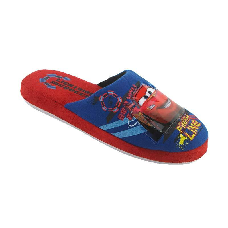 Disney Cars Red Blue Sandal Anak Laki-Laki