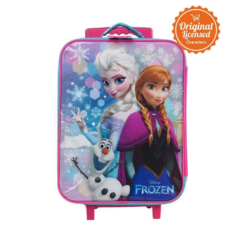 Disney Frozen Suitcase Pink Tas Anak