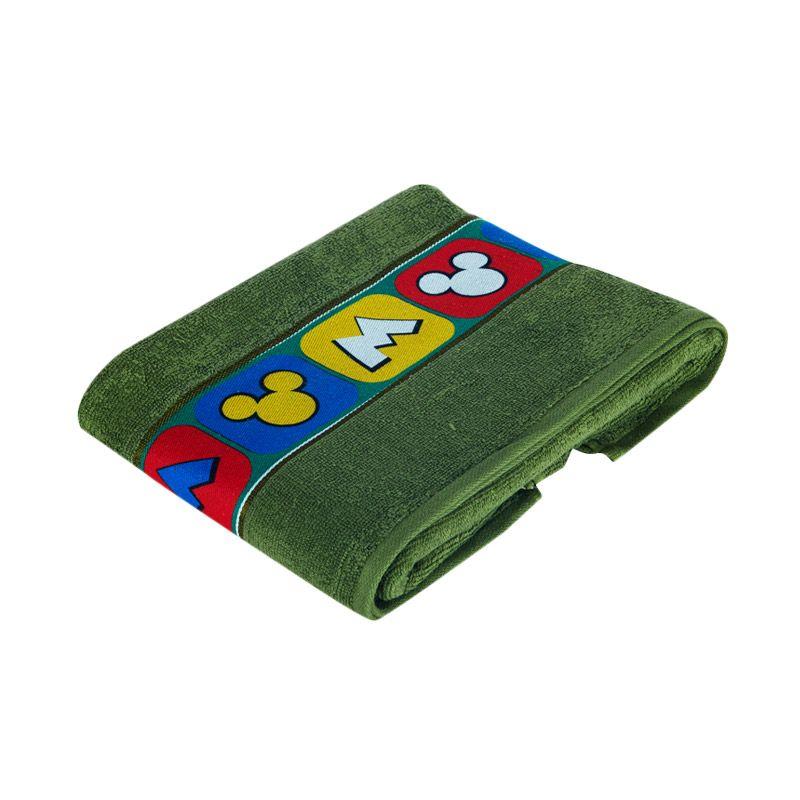 Disney Mickey Mouse Bath Green Handuk