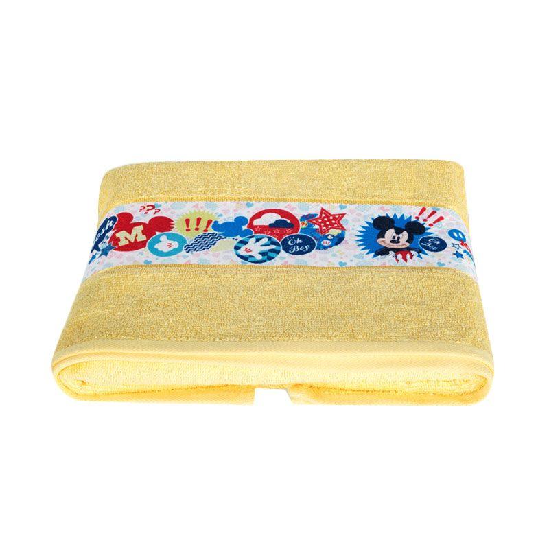 Disney Mickey Mouse Bath Yellow Handuk