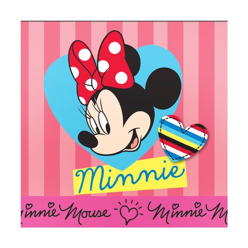 Disney Minnie Mouse Border Pink Wall Sticker