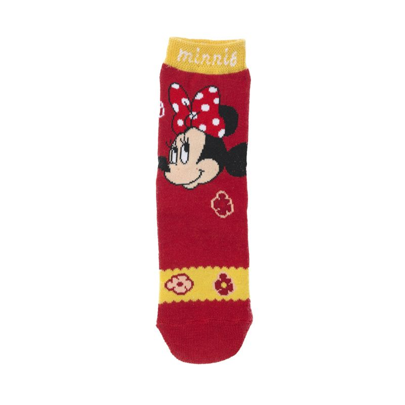 Disney Minnie Mouse Flower Red Kaos Kaki