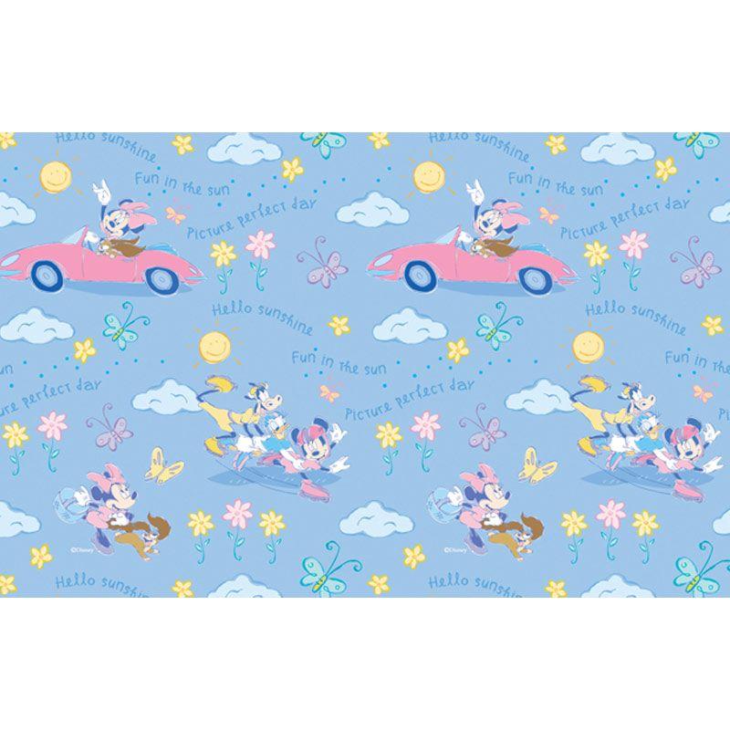 Disney Minnie Mouse Pink Glass Sheet