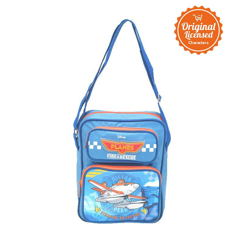 Disney Planes Fire and Rescue Blue Orange Sling Bag Tas Sekolah