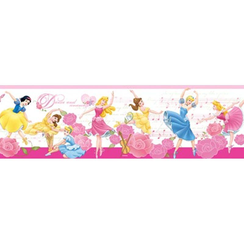 Disney Princess Pink Wall Border