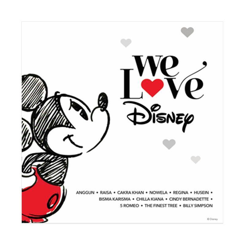 Disney We Love Album CD Musik