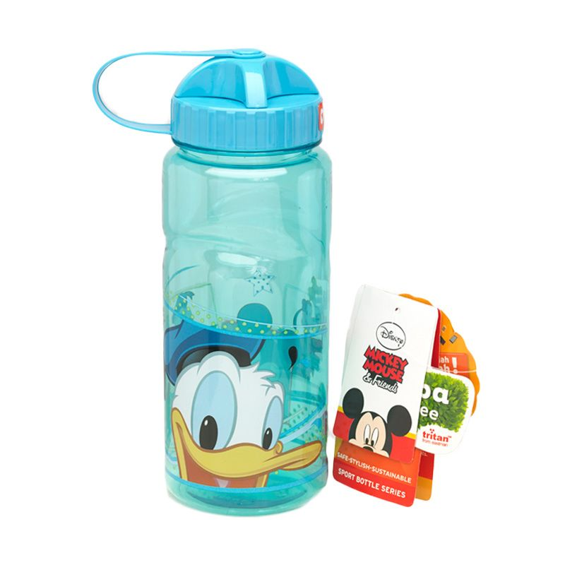 Disney Donald Duck Sport Blue Botol Minum [670 mL]