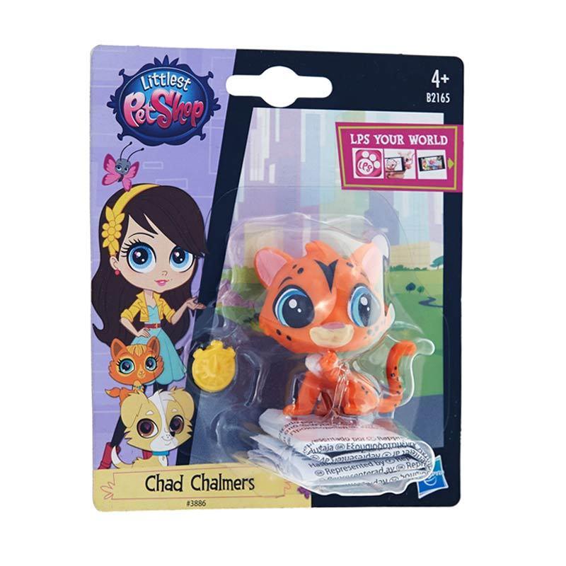 Littlest Pet Shop Cheetah Orange Mainan Anak