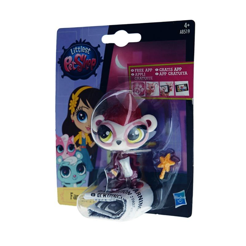 Littlest Pet Shop Singles A Ferret Purple Mainan Anak