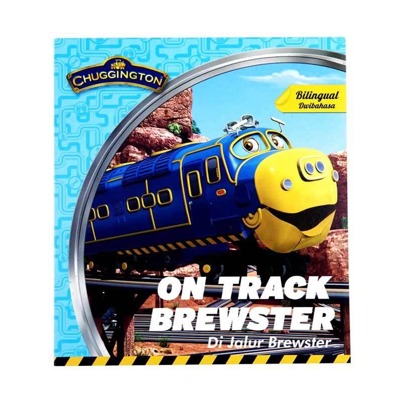 Marvel Chuggington On Track Brewster Buku Cerita Anak