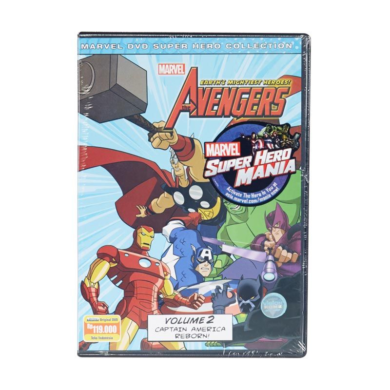 Marvel DVD The Avengers Earth's Mightiest Heroes Vol.2 Film Anak