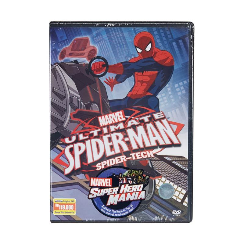 Marvel DVD Ultimate Spider-Man Vol.1 Spidertech Film Anak