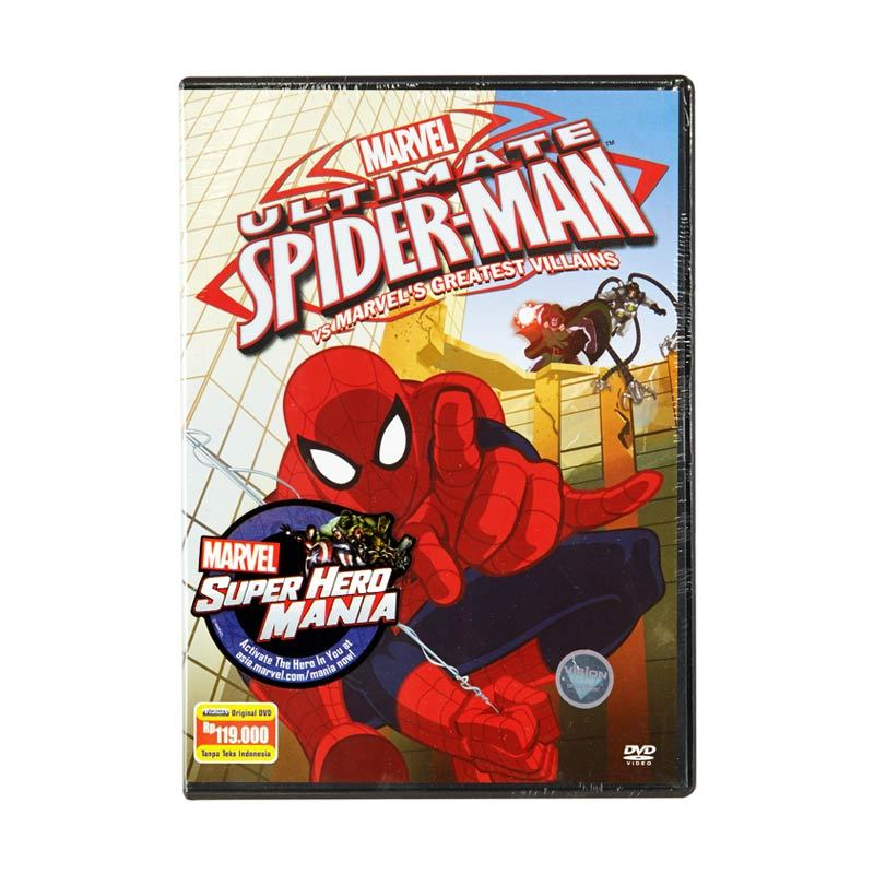 Marvel DVD Ultimate Spider-Man Vol.2 Spider-Man vs Marvel's Greatest Villains Film Anak