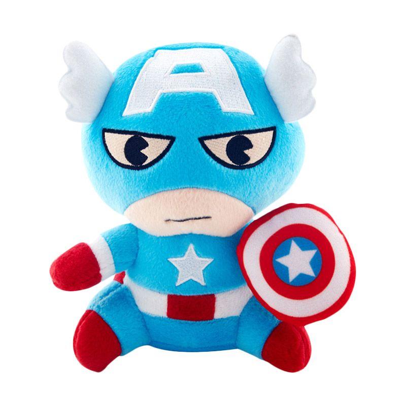 Marvel Plush Captain America Boneka [10 Inch]
