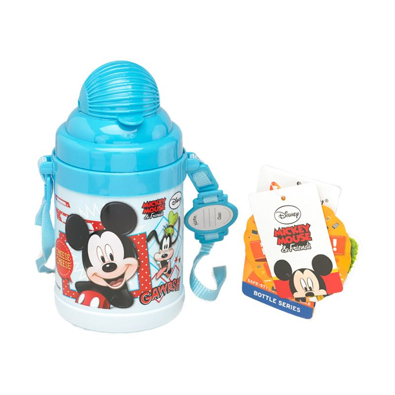 Disney Mickey Mouse Blue Botol Minum [530 mL]