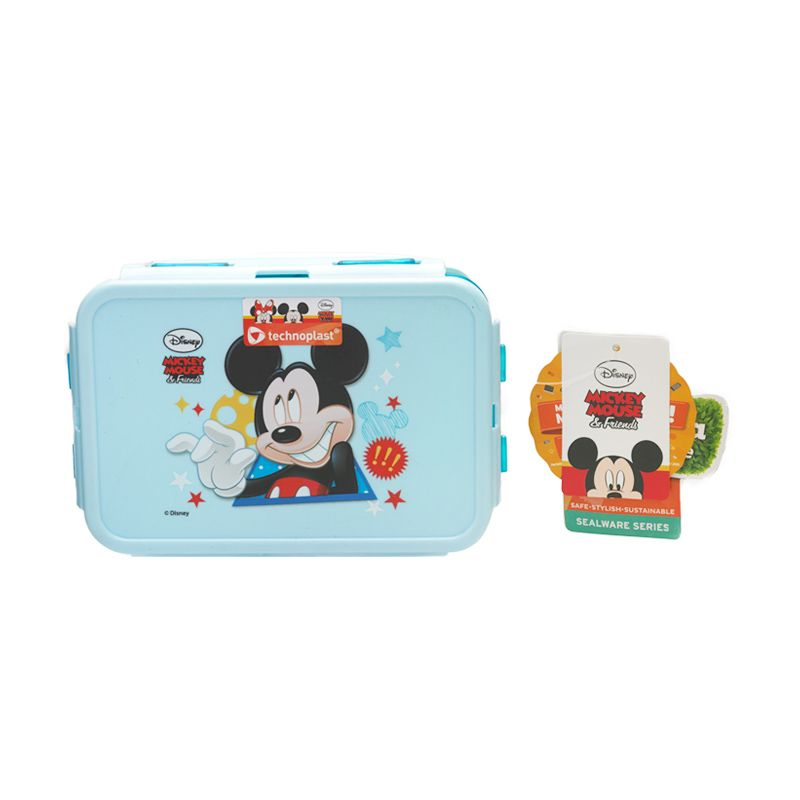 Disney Mickey Mouse Blue Kotak Makan [750 mL]