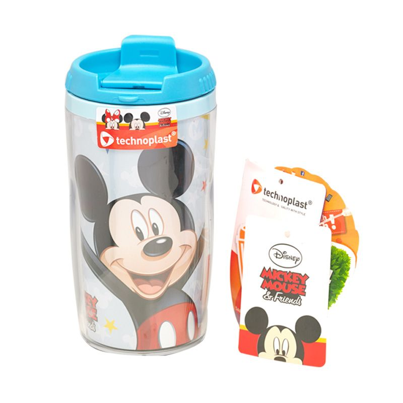 Disney Mickey Mouse Blue Botol Minum [320 mL]