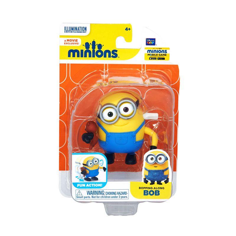 Minions Bopping Along Bob Yellow Mainan Anak