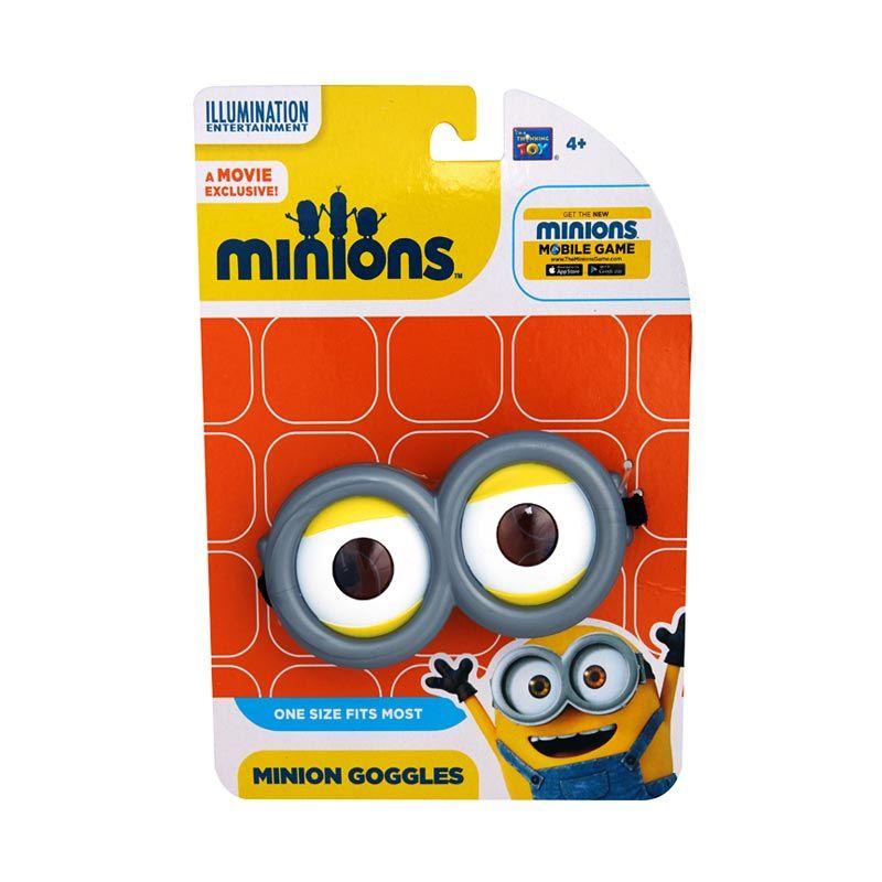 Minions Goggles Grey Mainan Anak