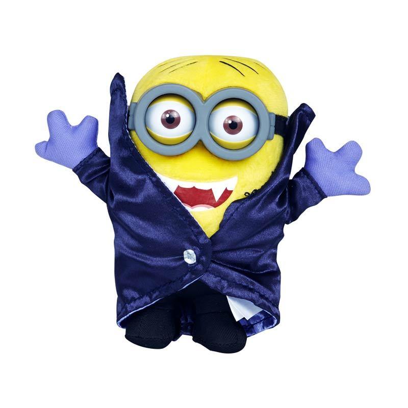Minions Gone Batty Deluxe Plush Buddies Yellow Mainan Anak