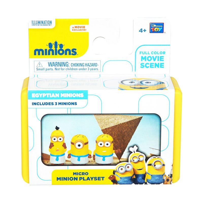 Minions Micro Minions Playset Yellow Mainan Anak