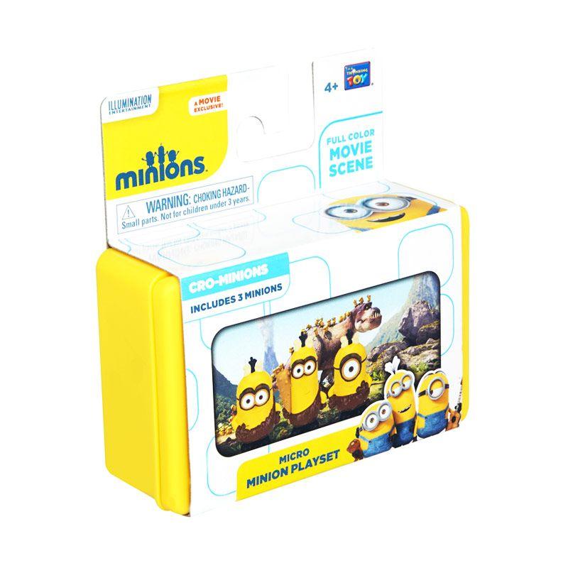 Minions Mini Playset Egyptian Minions Yellow Mainan Anak