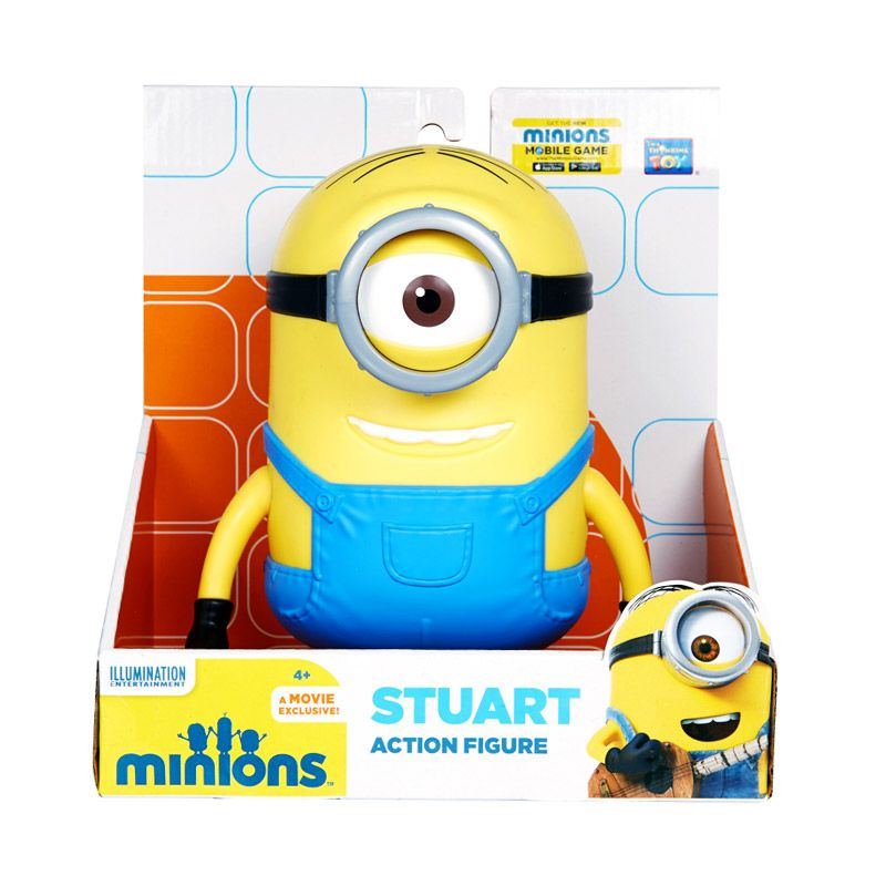 Minions Specialty Stuart Yellow Action Figure [7.5 Inch]