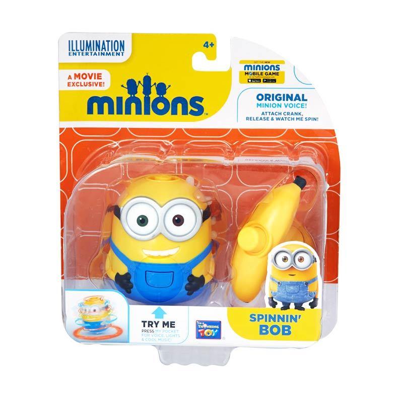 Minions Spinnin Bob Yellow Mainan Anak