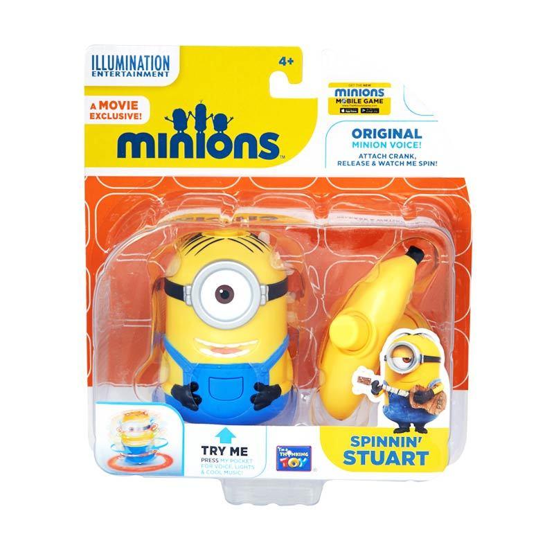 Minions Spinnin Stuart Yellow Mainan Anak