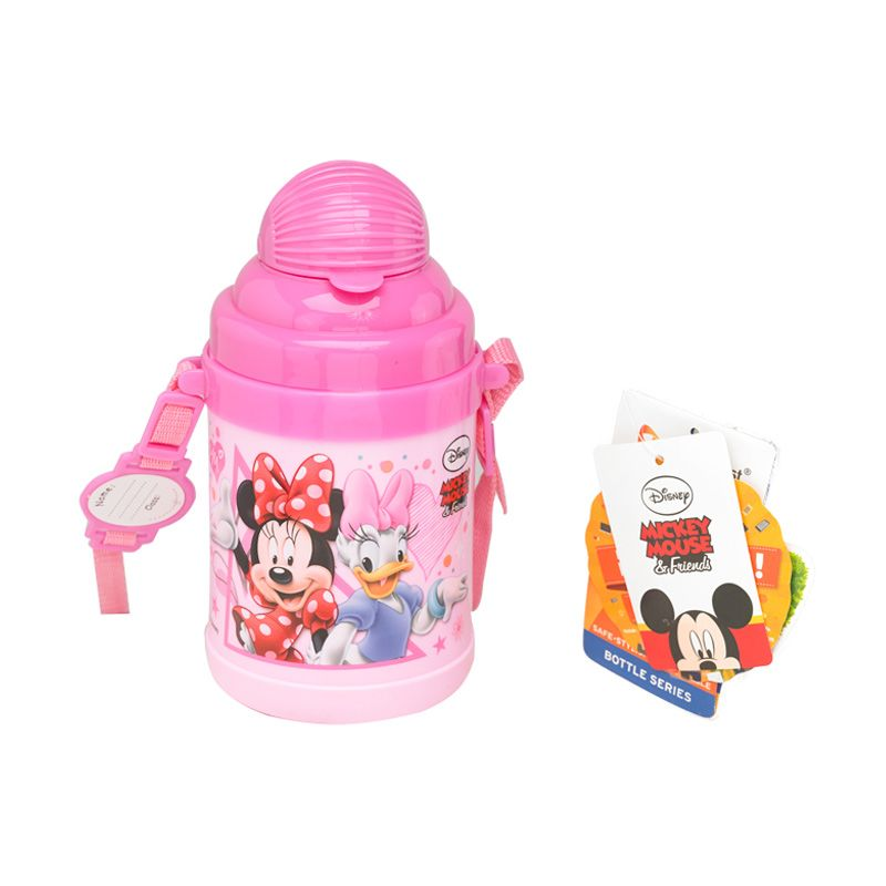 Disney Minnie Mouse Pink Botol Minum [530 mL]