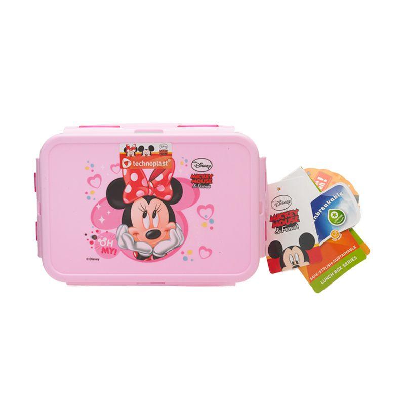 Disney Minnie Mouse Pink Kotak Makan [750 mL]