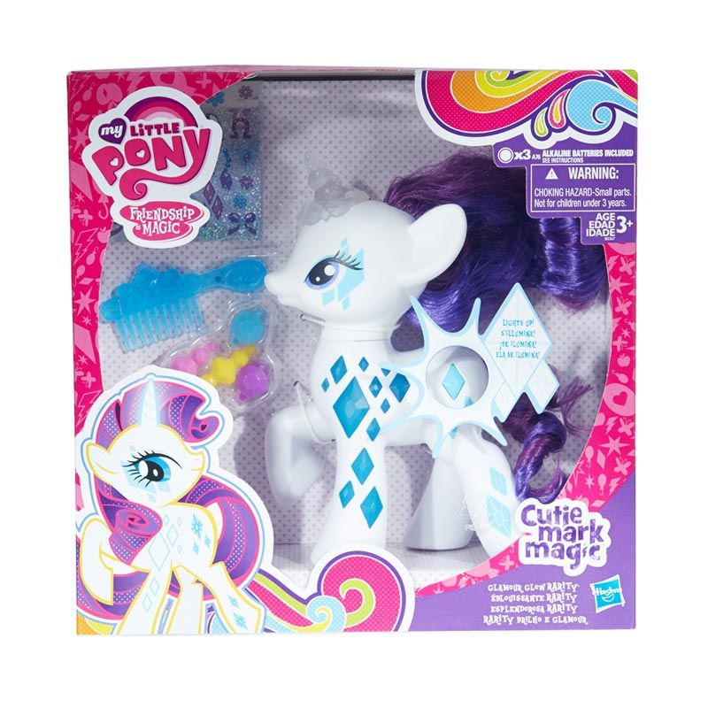 My Little Pony Cutie Mark Mag Ultimate Pony Rarity White Mainan Anak