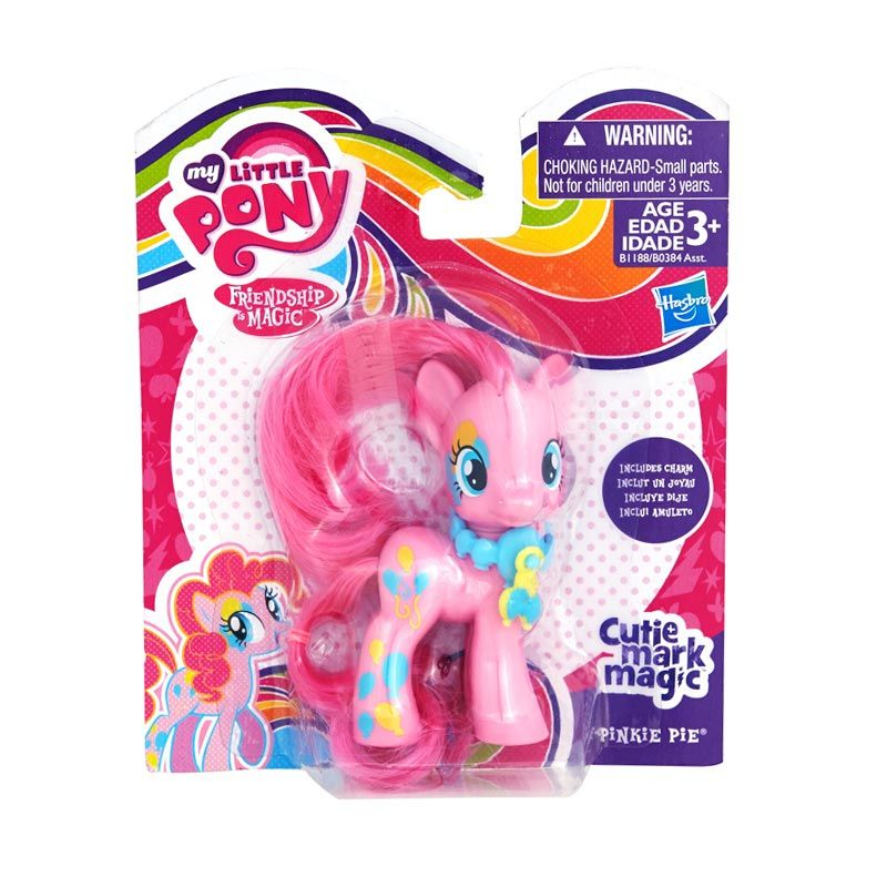 My Little Pony Cutie Mark Magic Friends Pinkie Pie Pink Mainan Anak