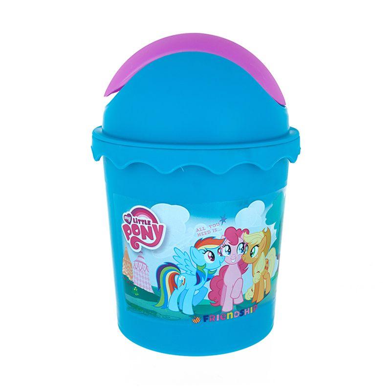 My Little Pony Small Round Swing Bin Tempat Sampah